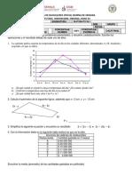 Instrumentos de Evaluacion Matemáticas 1 bachillerato general