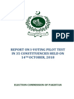 Internet Voting Report