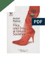 Andrei Makine - Fiica unui Erou al Uniunii Sovietice #1.0~5.docx