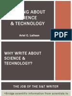 Sci-Tech Writing