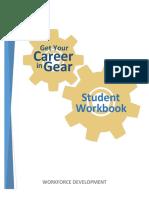 get your career in gear - student workbook final