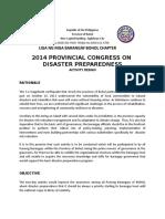 Congress on Disaster Preparedness