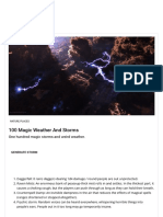 100 Magic Weather and Storms – Dndspeak