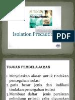 Isolation Precaution