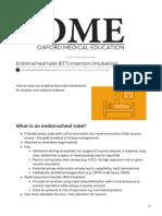 Oxfordmedicaleducation.com-Endotracheal Tube ETT Insertion Intubation
