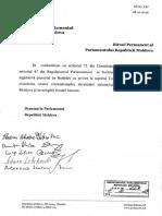 Proiectul de hotărâre cu privire la Raportul Comisiei de anchetă pentru elucidarea tuturor circumstanțelor devalizării sistemului bancar din Republica Moldova și investigării fraudei bancare
