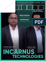 The Business APAC Advanced EMR-EHR Providers of 2019