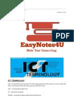 ICT Terminology
