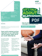 Relate Macmillan Service Leaflet