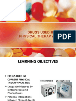 Drugs Used in Current Physical Therapy Practice