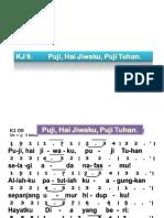 KJ 009. Puji_ Hai Jiwaku_ Puji Tuhan