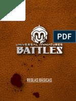 reglamento Universal Miniatures Battles