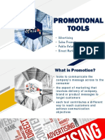 Promotional Tools MKTG