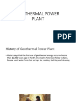 Geothermal Power Plant