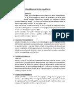 Procedimientos Informaticos Fernando