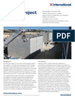 Intercrete Case Study Gorgon Project