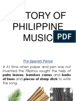 History of Philippine Music Orig