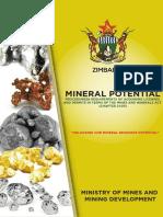 Zimbabwe Mineral Pontential Booklet