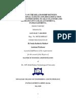 MBA Main Project Alen Raju Varghsese