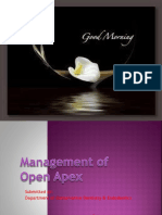 Management of Open Apex.pptx