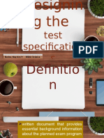 Barino-DesigningTestSpecification
