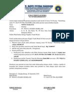 Surat Perintah Kerja Pt. Kazaas