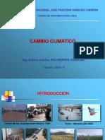 El Cambio Climatico y Sus Efectos en La Agricultura