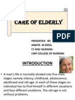 Care of Elderly
