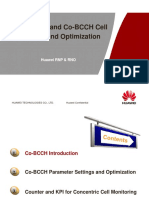 Huawei Dualband Co-BCCH Cell Introduction and Optimization
