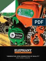 Chain Hoist Elephant