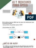 Pruevas y Mediciones en Fibra Óptica