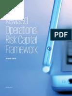 Revised Operational Risk Capital Framework