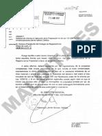 Oficios y comunicaciones entre el Ministerio de Justicia y el Colegio de Registradores sobre los bienes inmatriculados por la Iglesia