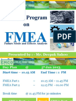 FMEA training ppt