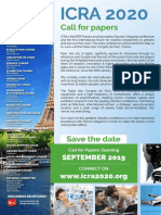 ICRA2020 - Call for Papers Web