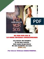 Eliéser William Ojeda Montiel Escribe Sobre Perversos de Jiménez Ure