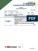 EF- VII - 2902-29401 - Circuitos Electrónicos II