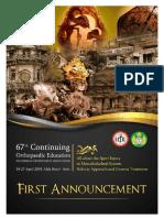 1st Announcement PABOI