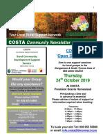 COSTA Newsletter - Oct 2019 (1)