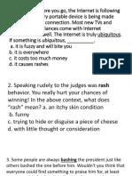 Context Clues Quiz Ppt
