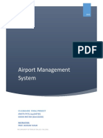 Report Airport Management System