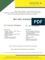 Job Advertisement 13-10-2019