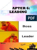 Chapter 6 Leading