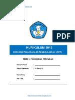 3. RPP Kelas VI Tema 3