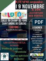 Loto de l'association Kick Aquitaine