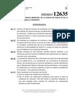 Ordenanza 12.635
