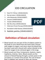 Blood Circulation