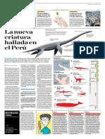 La Nueva Criatura Hallada en El Perú