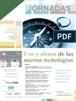 Jornadas 'Uso y abuso de las nuevas tecnologías'. cartel promocional