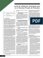 Informe Laboral Reg Esp Jubilacion Anticipada Desempleados Spp